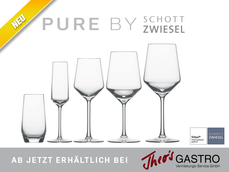Pure by Schott Zwiesel jetzt auch bei Theo's post thumbnail